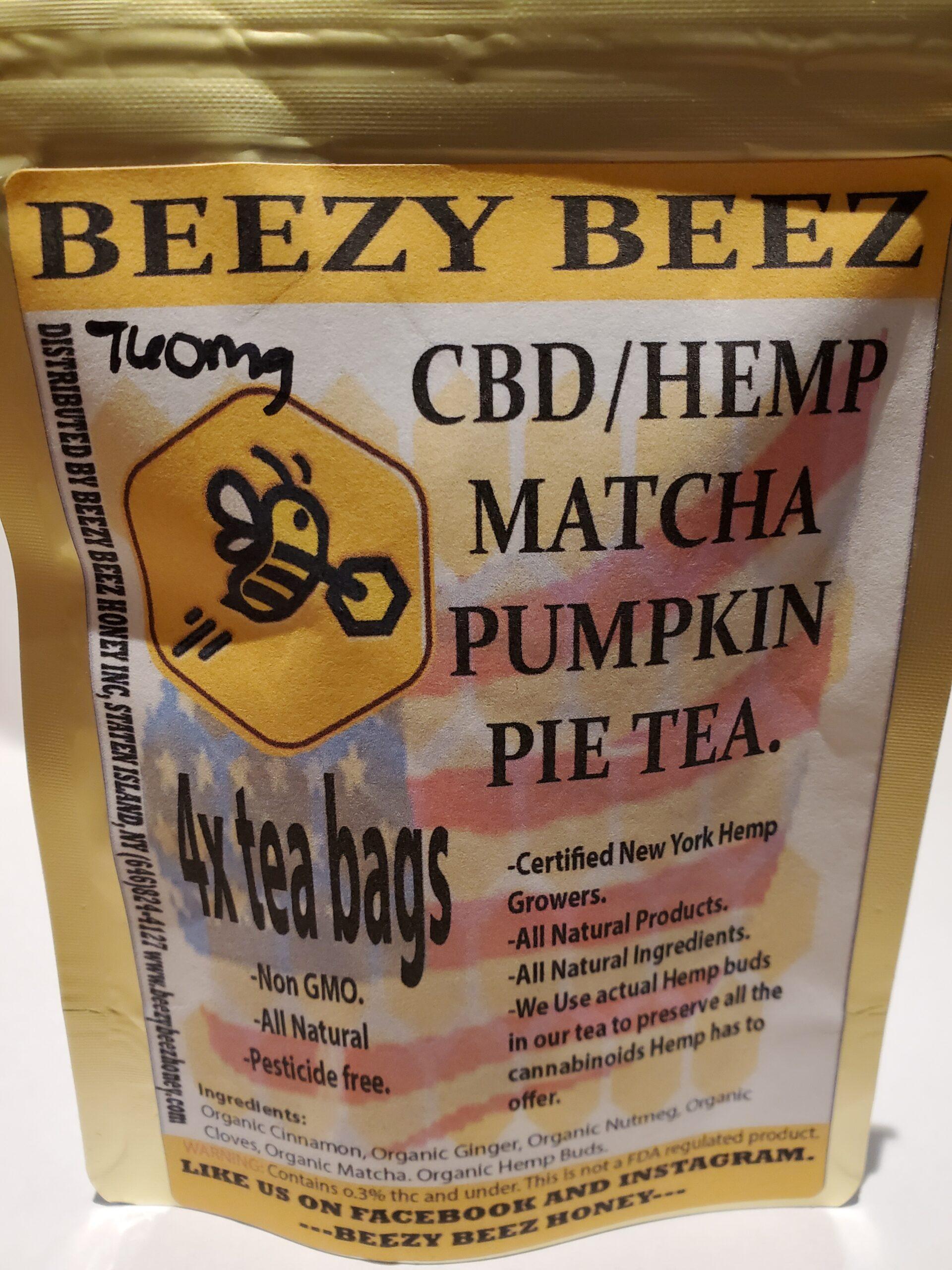 Beezy Beez Matcha Pumpkin